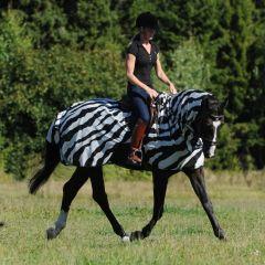 Uitrij Vliegendeken Bucas Buzz Off Zebra - 27054