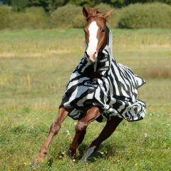 Vliegendeken Bucas Pony Buzz Off Full Neck Zebra - 27080