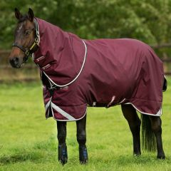 Deken Horseware Rambo Duo 100g + 300g Burgundy - 28341