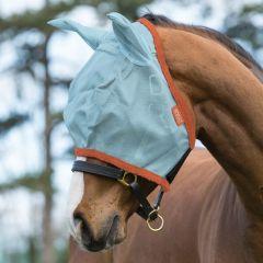 Vliegenmasker Horseware Amigo Aqua/Orange - 28536
