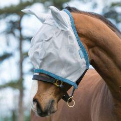 Vliegenmasker Horseware Amigo Silver/Dark Grey - 28537