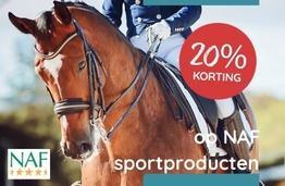 20% korting NAF